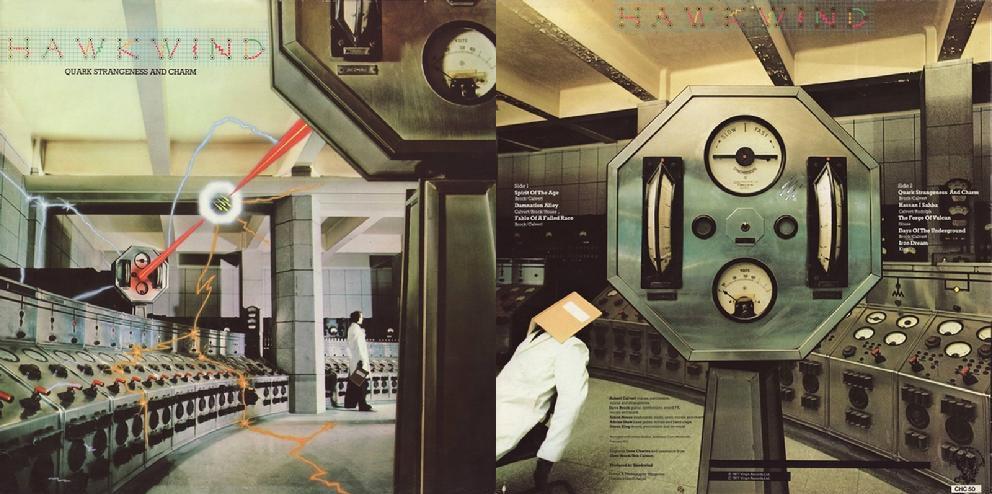 Hawkwind – Quark, Strangeness and Charm album cover